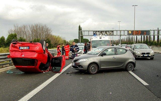 Accident avec une voiture d'occasion
